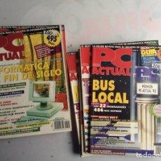 Coleccionismo de Revistas y Periódicos: REVISTA - PC ACTUAL -LOTE DE 10 EJEMPLARES - REVISTA DE INFORMATICA AÑOS 90. Lote 134302422