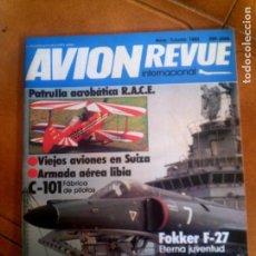 Coleccionismo de Revistas y Periódicos: REVISTA AVION REVUE N,1 JUNIO DE 1982. Lote 134322082