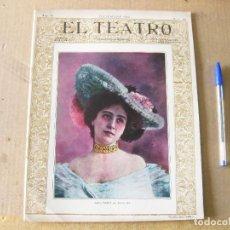 Coleccionismo de Revistas y Periódicos: EL TEATRO. AÑO IV. NÚMERO 39. DICIEMBRE DE 1903.. Lote 134328322