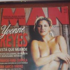 Coleccionismo de Revistas y Periódicos: REVISTA MAN N..98 YVONNE REYES. Lote 134381275