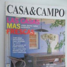 Coleccionismo de Revistas y Periódicos: REVISTA CASA & CAMPO Nº 122. Lote 179518371