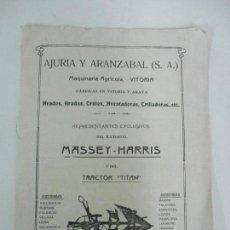 Coleccionismo de Revistas y Periódicos: REVISTA SOCIAL Y AGRARIA Nº 32 - NOTICIAS, PUBLICIDAD, ETC - DICIEMBRE AÑO 1921. Lote 134431030