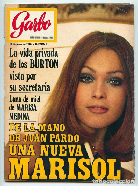 GARBO - 1970 - MARISOL, ROCÍO DÚRCAL, JUNIOR, MANOLO TOSCANO, LOS ANGELES, RAPHAEL, GRACIA DE MÓNACO (Coleccionismo - Revistas y Periódicos Modernos (a partir de 1.940) - Otros)