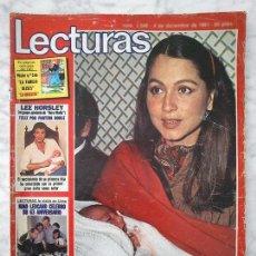 Coleccionismo de Revistas y Periódicos: LECTURAS - 1981 - ISABEL PREYSLER, SARA MONTIEL, ANTONIO FERRANDIS, PILAR Y CRISTINA TORRES. Lote 91348130