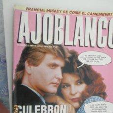 Coleccionismo de Revistas y Periódicos: AJOBLANCO N.º 42 MAYO JUNIO 1992 - CULEBRON O PORNOGRAFIA. Lote 134535938