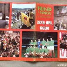 Coleccionismo de Revistas y Periódicos: PUNTO Y HORA DE EUSKAL HERRIA N°157 (ENERO, 1980). 1979.ARI, AGUR. RESUMEN DEL AÑO 1979.. Lote 134540682