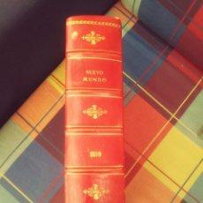 Coleccionismo de Revistas y Periódicos: REVSITA NUEVO MUNDO AÑO 1899 PERFECTAMENTE ENCUADERNADO Y EN ESTADO MUY BUENO.. Lote 134554366