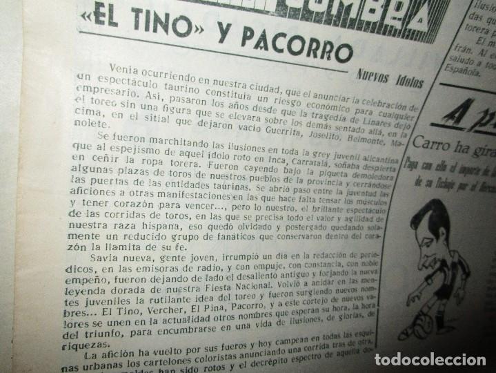 Coleccionismo de Revistas y Periódicos: ATAQUE 1957 3 RAROS PERIODICOS antiguos FUTBOL HERCULES DE alicante DEPORTIVO Nº 1 - 2- 7.- - Foto 10 - 48632104
