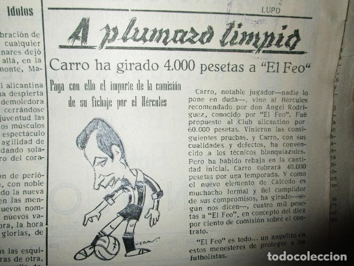Coleccionismo de Revistas y Periódicos: ATAQUE 1957 3 RAROS PERIODICOS antiguos FUTBOL HERCULES DE alicante DEPORTIVO Nº 1 - 2- 7.- - Foto 11 - 48632104