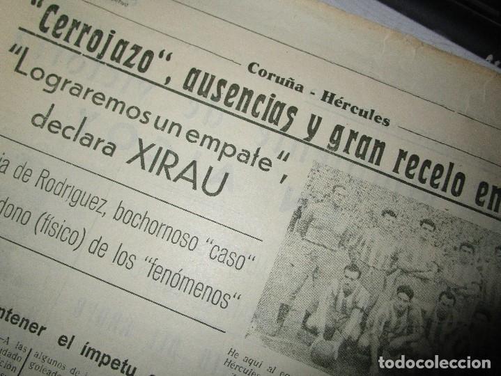 Coleccionismo de Revistas y Periódicos: ATAQUE 1957 3 RAROS PERIODICOS antiguos FUTBOL HERCULES DE alicante DEPORTIVO Nº 1 - 2- 7.- - Foto 17 - 48632104
