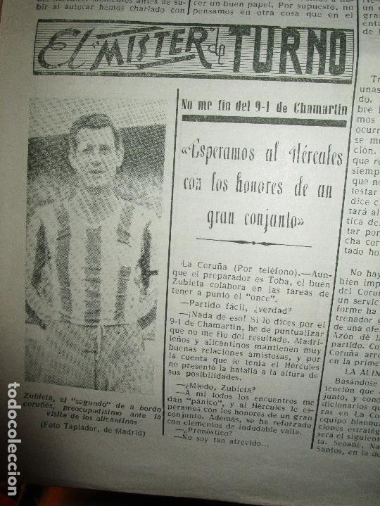 Coleccionismo de Revistas y Periódicos: ATAQUE 1957 3 RAROS PERIODICOS antiguos FUTBOL HERCULES DE alicante DEPORTIVO Nº 1 - 2- 7.- - Foto 18 - 48632104