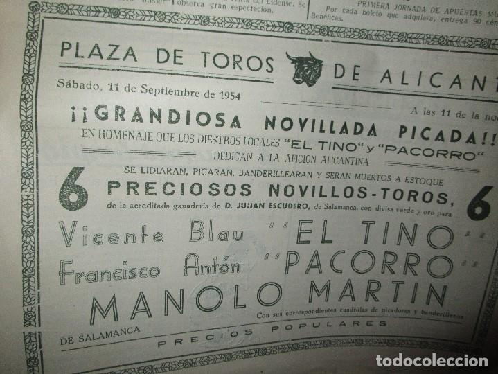 Coleccionismo de Revistas y Periódicos: ATAQUE 1957 3 RAROS PERIODICOS antiguos FUTBOL HERCULES DE alicante DEPORTIVO Nº 1 - 2- 7.- - Foto 19 - 48632104