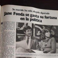 Coleccionismo de Revistas y Periódicos: JANE FONDA . Lote 134714378