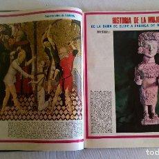 Coleccionismo de Revistas y Periódicos: COLECCIONABLE.HISTORIA DE LA MUJER ESPAÑOLA : DE LA DAMA DE ELCHE A FABIOLA DE MORA Y ARAGÓN. Lote 134719386