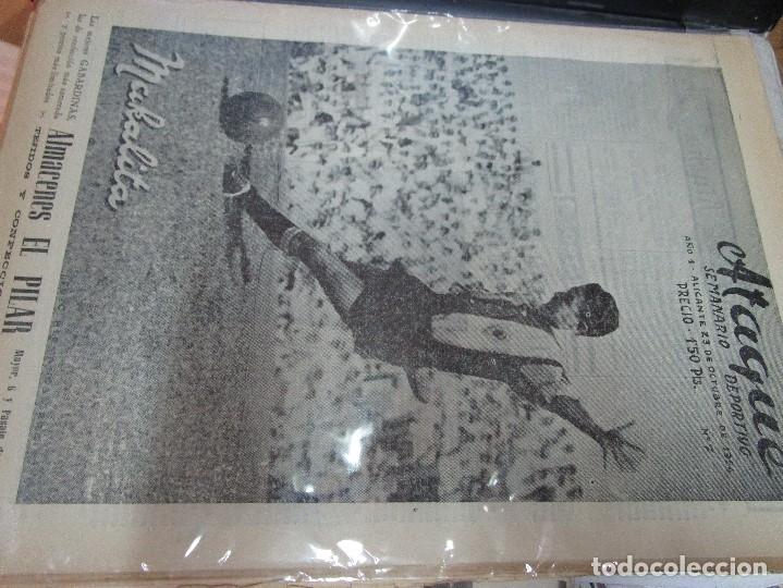 Coleccionismo de Revistas y Periódicos: ATAQUE 1957 3 RAROS PERIODICOS antiguos FUTBOL HERCULES DE alicante DEPORTIVO Nº 1 - 2- 7.- - Foto 26 - 48632104