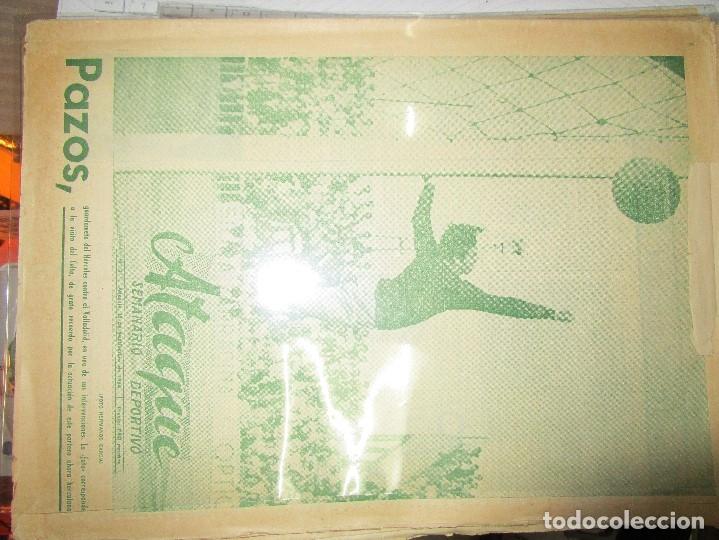 Coleccionismo de Revistas y Periódicos: ATAQUE 1957 3 RAROS PERIODICOS antiguos FUTBOL HERCULES DE alicante DEPORTIVO Nº 1 - 2- 7.- - Foto 27 - 48632104