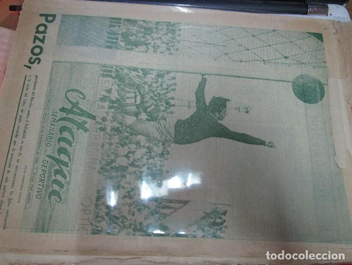 Coleccionismo de Revistas y Periódicos: ATAQUE 1957 3 RAROS PERIODICOS antiguos FUTBOL HERCULES DE alicante DEPORTIVO Nº 1 - 2- 7.- - Foto 28 - 48632104