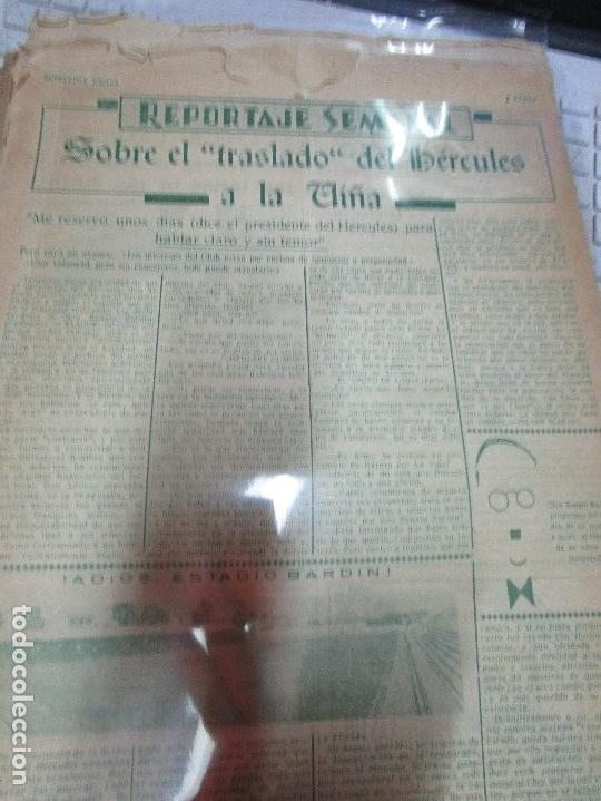 Coleccionismo de Revistas y Periódicos: ATAQUE 1957 3 RAROS PERIODICOS antiguos FUTBOL HERCULES DE alicante DEPORTIVO Nº 1 - 2- 7.- - Foto 29 - 48632104