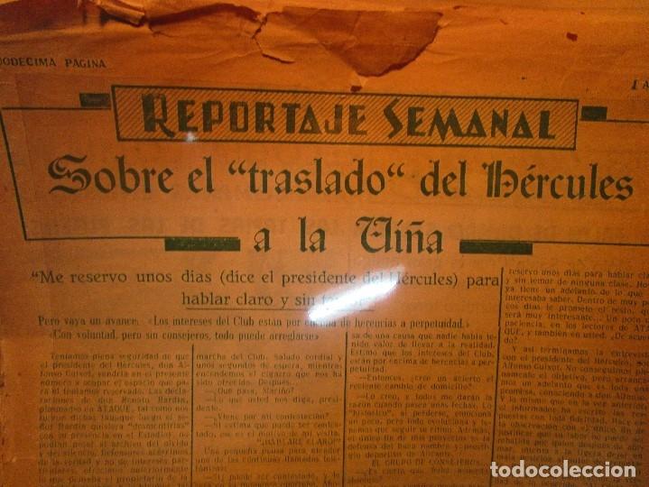 Coleccionismo de Revistas y Periódicos: ATAQUE 1957 3 RAROS PERIODICOS antiguos FUTBOL HERCULES DE alicante DEPORTIVO Nº 1 - 2- 7.- - Foto 30 - 48632104