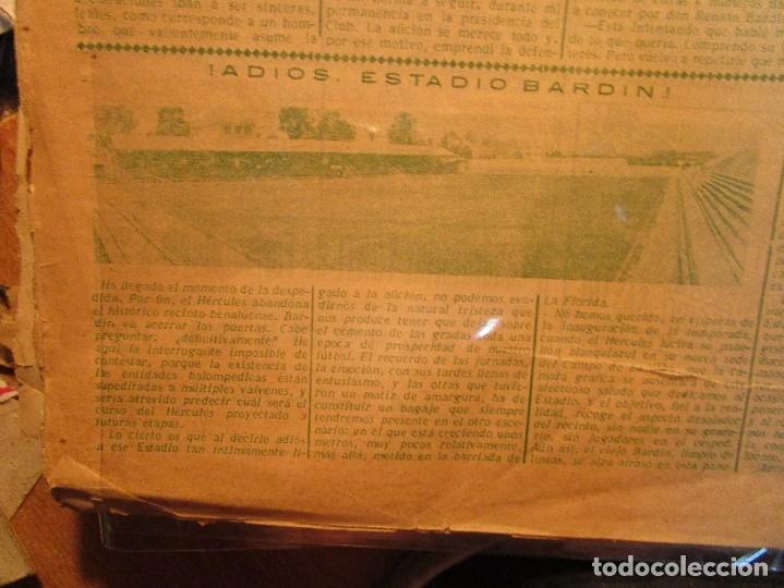 Coleccionismo de Revistas y Periódicos: ATAQUE 1957 3 RAROS PERIODICOS antiguos FUTBOL HERCULES DE alicante DEPORTIVO Nº 1 - 2- 7.- - Foto 31 - 48632104