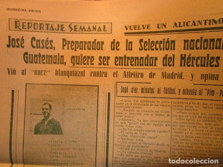 Coleccionismo de Revistas y Periódicos: ATAQUE 1957 3 RAROS PERIODICOS antiguos FUTBOL HERCULES DE alicante DEPORTIVO Nº 1 - 2- 7.- - Foto 35 - 48632104