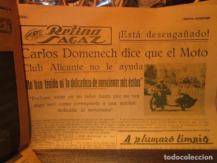 Coleccionismo de Revistas y Periódicos: ATAQUE 1957 3 RAROS PERIODICOS antiguos FUTBOL HERCULES DE alicante DEPORTIVO Nº 1 - 2- 7.- - Foto 36 - 48632104