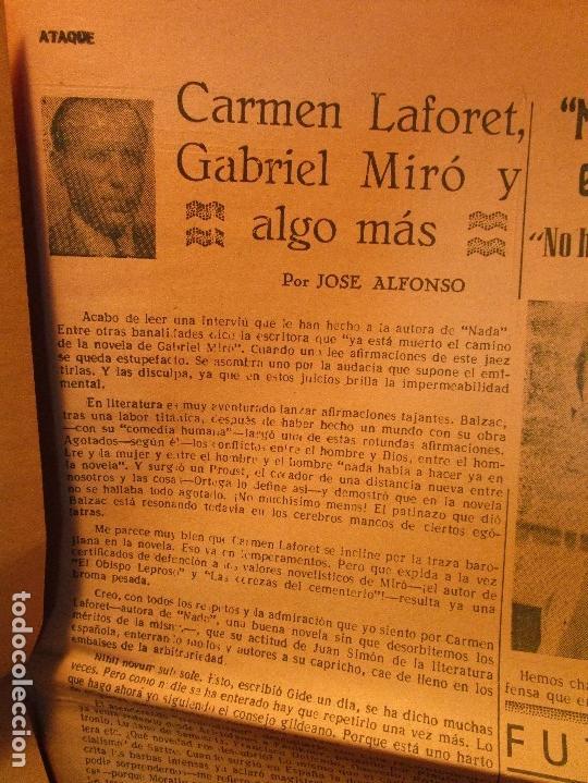 Coleccionismo de Revistas y Periódicos: ATAQUE 1957 3 RAROS PERIODICOS antiguos FUTBOL HERCULES DE alicante DEPORTIVO Nº 1 - 2- 7.- - Foto 38 - 48632104