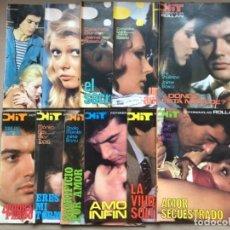 Coleccionismo de Revistas y Periódicos: LOTE DE 10 FOTONOVELAS HIT, ROLLÁN EDITOR 1976/77. EXCELENTE ESTADO.. Lote 134778846