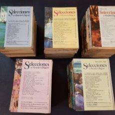 Coleccionismo de Revistas y Periódicos: LOTE DE 100 SELECCIONES READER'S DIGEST. Lote 134822029