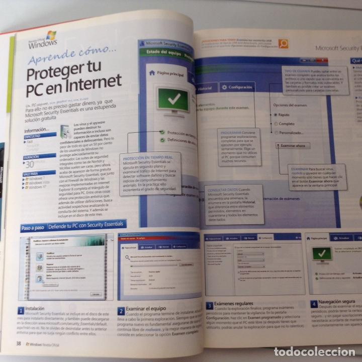 Coleccionismo de Revistas y Periódicos: Revista oficial Windows n.34 - Foto 2 - 134828563