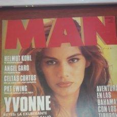 Coleccionismo de Revistas y Periódicos: REVISTA MAN YVONNE REYES NOVIEMBRE 92 N 61. Lote 134843603