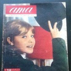 Coleccionismo de Revistas y Periódicos: AMA, NÚMERO 79 ABRIL 1963 MARISOL EN PORTADA + REPORTAJE DE 1 PÁGINA . Lote 134886246
