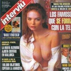 Coleccionismo de Revistas y Periódicos: INTERVIU NUMERO 1127: LUDOVICA PARRUSH. Lote 134888237