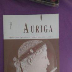 Coleccionismo de Revistas y Periódicos: AURIGA REVISTA DE DIVULGACIO I DEBAT DEL MONT CLASIC LES REFORMES MILITARS D AUGUST. Lote 134898102