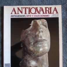 Coleccionismo de Revistas y Periódicos: REVISTA ANTIQUARIA. ANTIGUEDADES, ARTE Y COLECCIONISMO. Nº 49. AÑO VI. 1988. Lote 134933838