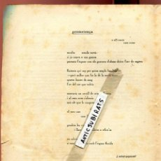 Coleccionismo de Revistas y Periódicos: RARA REVISTA CATALANA ANY 1920 ANIMA NOSTRA ANY 1920 CASTELLGALI JOAN SALVAT-PAPASSEIT PROMETENÇA . Lote 134981450