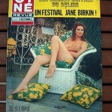 Coleccionismo de Revistas y Periódicos: CINE REVUE / JANE BIRIN, CORINNE CLERY, BARBARA BOUCHET, MADELEINE CARROLL, GIANNA SERRA, JESS HAHN. Lote 135013562