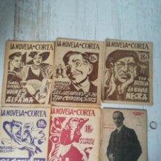 Coleccionismo de Revistas y Periódicos: LA NOVELA CORTA REVISTA. Lote 135023858