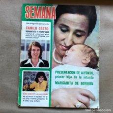 Coleccionismo de Revistas y Periódicos: REVISTA SEMANA N° 1749, DEL AÑO 1973. MARISOL, ANTONIO GADES, EL CORDOBÉS, CAMILO SESTO,,,. Lote 135124858