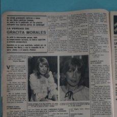 Coleccionismo de Revistas y Periódicos: RECORTE REPORTAJE CLIPPING DE GRACITA MORALES REVISTA SEMANA Nº 2040 PAG 8. Lote 135141814