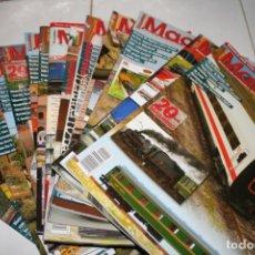 Coleccionismo de Revistas y Periódicos: LOTE DE REVISTAS MAQUETREN. Lote 135157682
