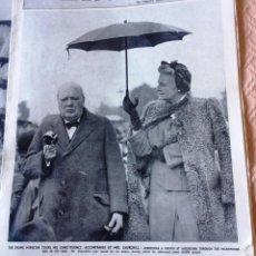 Coleccionismo de Revistas y Periódicos: THE SPHERE- 5 REVISTAS DE 1945- GUERRA MUNDIAL- EN INGLES- CHURCHIL. Lote 135173274
