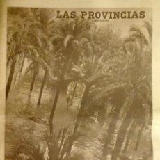 Coleccionismo de Revistas y Periódicos: LAS PROVINCIAS. NÚMERO EXTRA RIADA DE VALENCIA 1957. Lote 135272578