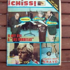 Coleccionismo de Revistas y Periódicos: REVISTA CHISS Nº 106 / PATRICIA ADRIANI, EMILIO JOSE, LOS PORRETAS, AMOR LESBIANO, ANGIE DICKINSON. Lote 135305406