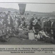 Coleccionismo de Revistas y Periódicos: OVIEDO TERTULIA BANGO/ SAN QUIRICO DE BESORA / SANTOÑA PRISION / EIBAR ESCUELA ARMERIA HOJA 1915. Lote 135453838