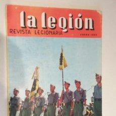 Coleccionismo de Revistas y Periódicos: LA LEGIÓN REVISTA LEGIONARIA ENERO DE 1965 EN PORTADA LEGIONARIOS FORMANDO. Lote 135456362