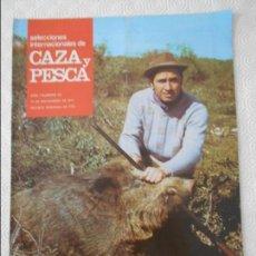 Coleccionismo de Revistas y Periódicos: SELECCIONES INTERNACIONALES DE CAZA Y PESCA. AÑO I. NUMERO 33. 19 DE NOVIEMBRE DE 1971. MONTERIA EN . Lote 135521290