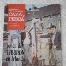 Coleccionismo de Revistas y Periódicos: SELECCIONES INTERNACIONALES DE CAZA Y PESCA. AÑO I. NUMERO 35. 3 DE DICIEMBRE DE 1971. PESCA DEL TIB. Lote 135521486