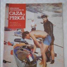 Coleccionismo de Revistas y Periódicos: SELECCIONES INTERNACIONALES DE CAZA Y PESCA. AÑO I. NUMERO 36. 10 DE DICIEMBRE DE 1971. EN EL MAR DE. Lote 135521706