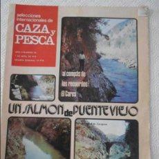 Coleccionismo de Revistas y Periódicos: SELECCIONES INTERNACIONALES DE CAZA Y PESCA. AÑO II. NUMERO 53. 7 DE ABRIL DE 1972. AL COMPAS DE LOS. Lote 135522754